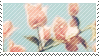 Pink Flower 2 stamp by catstam