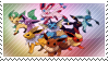 eeveelutions stamp 2 by catstam