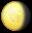 Waning Gibbous Emoji by catstam