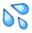 Water Droplets Emoji by catstam