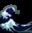 Waves Emoji by catstam