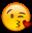 Kissy Heart Face Emoji