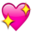 Heart Shine Emoji by catstam