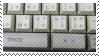 keyboard stamp by catstam