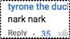 Nark Nark by catstam