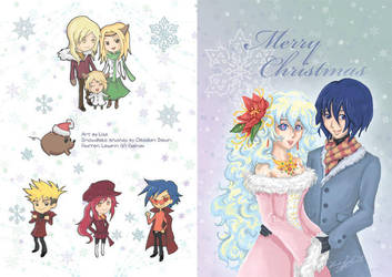 Gurren Lagann Christmas card by lithele