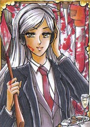 ACEO #17 CBT Sayuri AMERICAN PSYCHO by MTToto