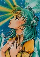 ACEO #111: Princess Ninako by MTToto