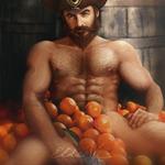 LoL Gangplank NSFW - Orange Juice by Eldervi