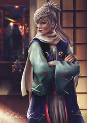 Fire Emblem Heroes Takumi by Eldervi