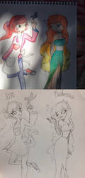 Then and Now by Kathy1523