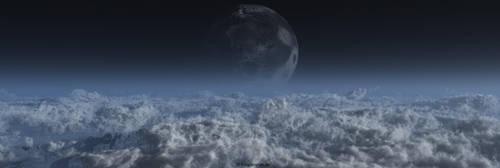 Exoplanet Kepler 442b by ChrisKlm