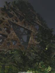 Jungle Pyramid by ChrisKlm