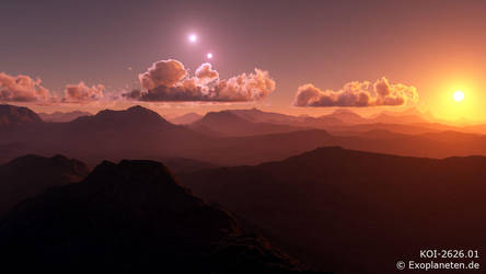 World under Three Suns by ChrisKlm