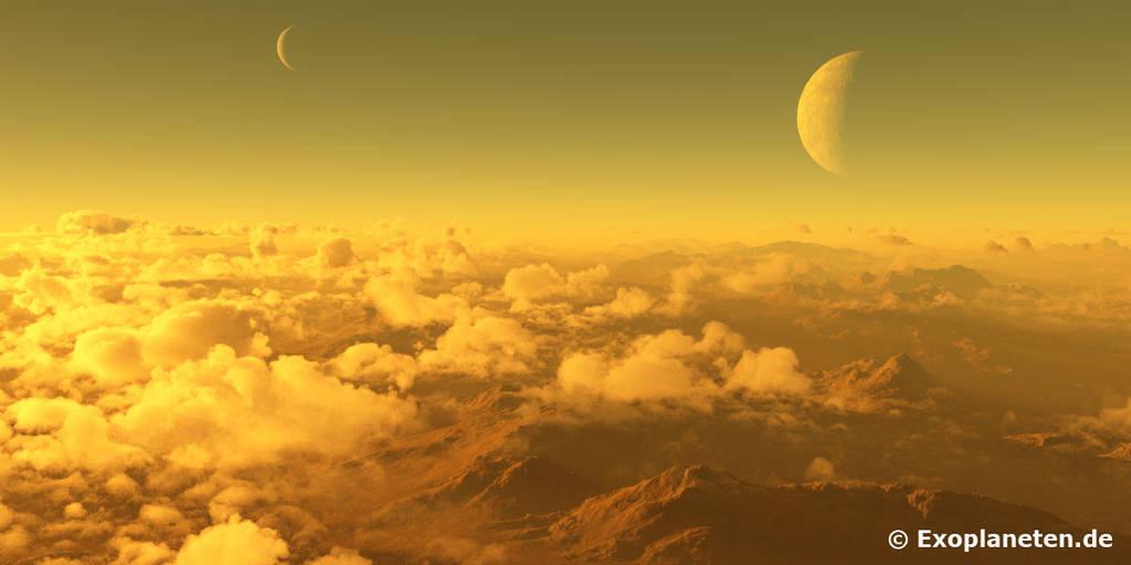 Exoplanet Gliese 581c by ChrisKlm