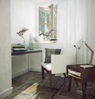 Chair Scene by kornny