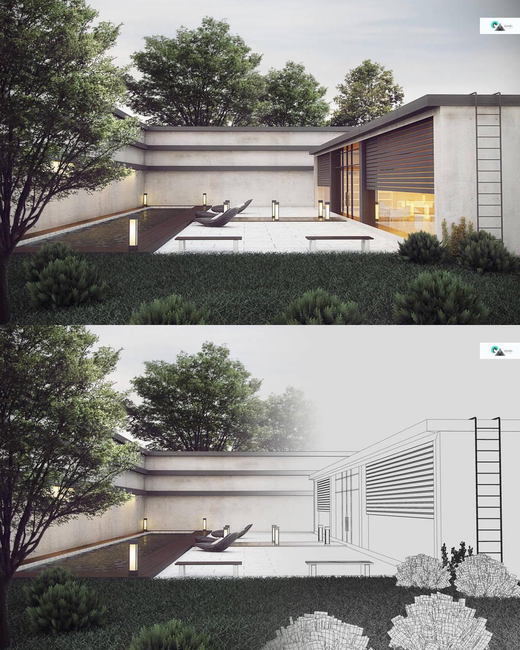 Exterior Architecture v1 by kornny