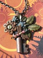 Secret Steampunk Garden II by goddessccoa