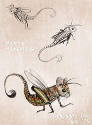 The Hopping HouseMouse by GobLynns-Den