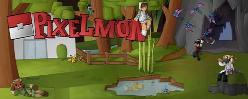 Pixelmon Banner by DragonsPainter