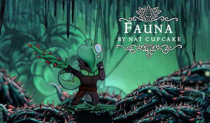 Hollow knight : Fauna by NatCupcake by TinyTentacle