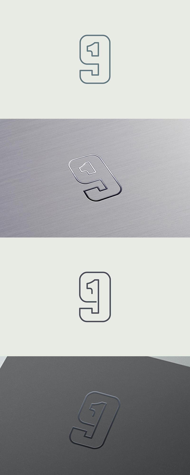 Nineteen Monogram by samadarag