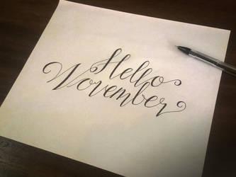 Hello November :) by samadarag