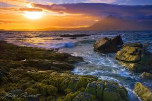 Elgol Sunset by XavierJamonet