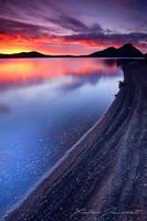 Frostastadavatn sunset by XavierJamonet