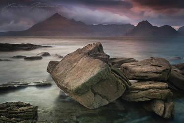 Elgol Rocks by XavierJamonet