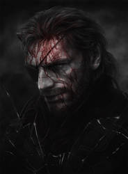 Metal Gear Solid V. The Phantom Pain fan art by Jazefel