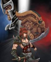 Diablo 3 Gods and Demons by Alexis-Kurosawa