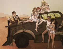 Furiosa and the Gang by Daaakota