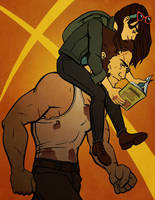 Logan and Laura by Daaakota