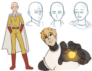 One Punch Sketches by Daaakota