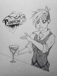 Pumpkin Online OC Zoey by SkylarMinx