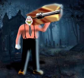 enter grave digger by Archfiend-dux