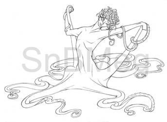 Octopus-boy by SnBMeg