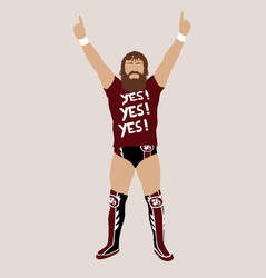 Daniel Bryan by spidey-dude