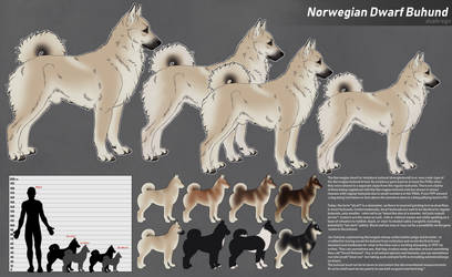Extinct/cryptid dogs: Dwarf buhund (dvergbuhund) by duskregn