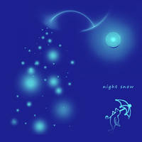 snowy night by duf20