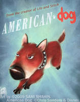 American Dog by SamiShahin-Art
