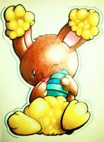 Happy Easter! by Cubone4000