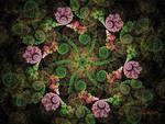 Spiral Flora by Rozrr