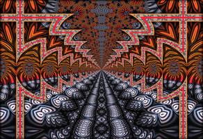 Fractal Path by Rozrr
