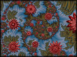 Fantasy Star Flowers by Rozrr