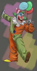 Just a clown by SAV83