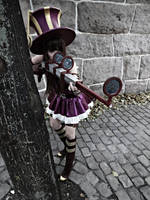 League of Legends - Caitlyn Cosplay. by TineMarieRiis