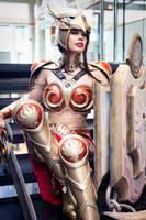 Valkyrie Leona Cosplay League of Legends by TineMarieRiis