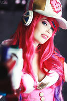 Arcade Miss Fortune Cosplay League of Legends by TineMarieRiis